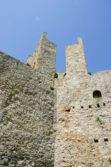 Manasija Castle Stock Images