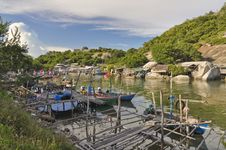 Free Fishermen Boat Stock Photos - 14135883
