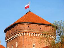 Free Wawel Tower Stock Photography - 14135932