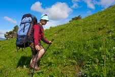 Free Hiker Royalty Free Stock Photo - 14136425