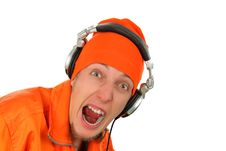 Free Portrait Deejay Close-up Stock Images - 14136994