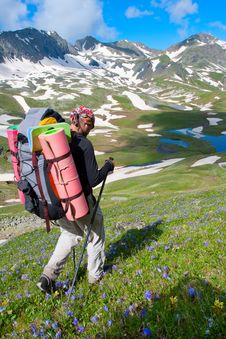 Free Hiker Stock Images - 14137014