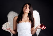 Free Angel Stock Photography - 14137642