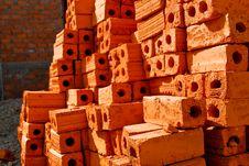 Orange Brick Stock Photos