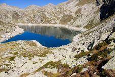 Free Mountain Lake - Aiguestortes Park Royalty Free Stock Photo - 14139635