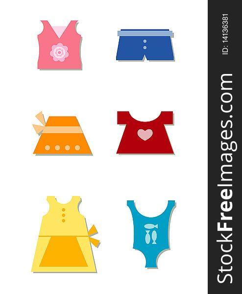 A girl s summer wardrobe