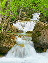 Free Waterfall Flow Royalty Free Stock Photos - 14141018