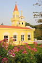 Free A Yellow Church. Stock Photography - 14147972