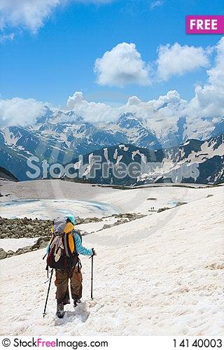 Free Hiker Stock Photos - 14140003