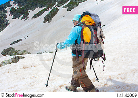 Free Hiker Royalty Free Stock Images - 14140009