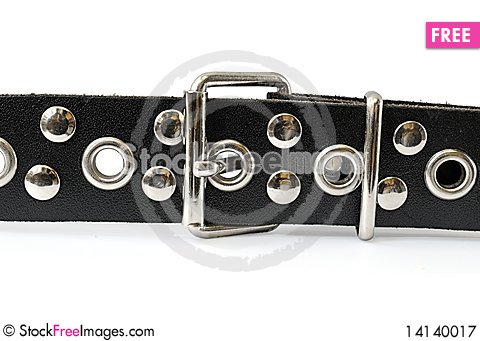 Free Black Belt And Buckle Royalty Free Stock Photography - 14140017