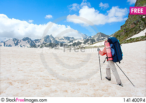Free Hiker Stock Images - 14140094