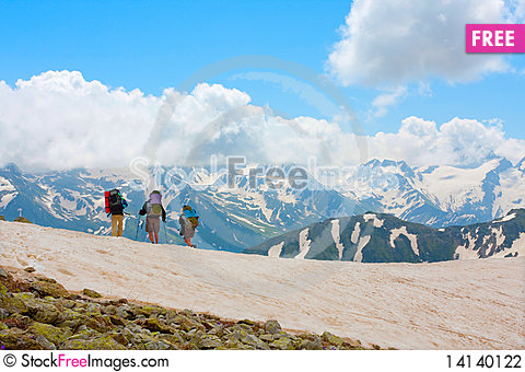 Free Hiker Stock Photography - 14140122