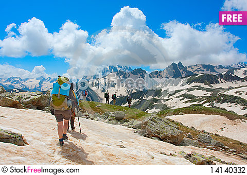 Free Hiker Stock Photography - 14140332
