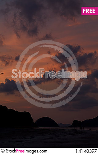 Free The Night Is Coming. Royalty Free Stock Photography - 14140397