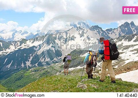 Free Hiker Stock Photo - 14140440