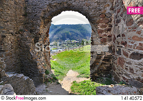 Free Old Ruin In Tne South Bohemian. Stock Photography - 14140572