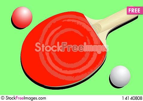 Free Racket And Balls Royalty Free Stock Photos - 14140808