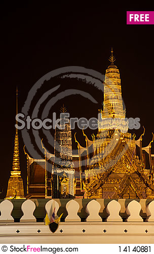 Free The Gold Of The Night Stock Image - 14140881