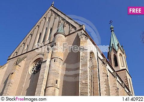 Free Church Of Saint Maurice,Kromeriz World Heritage Si Stock Photography - 14140922