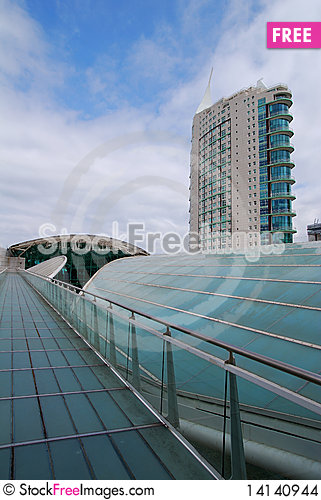 Free Modern Office Building Stock Images - 14140944