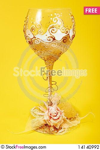Free Wedding Glass Stock Photography - 14140992