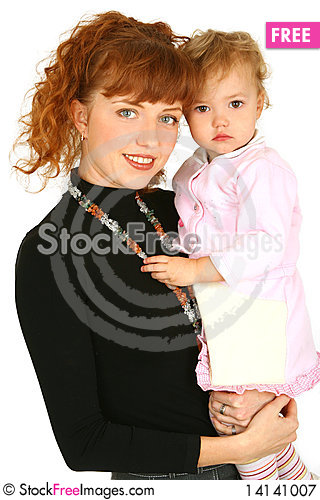 Free Mother With Baby Girl Royalty Free Stock Photography - 14141007