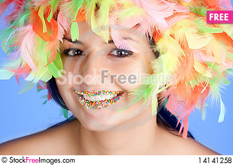 Free Woman Royalty Free Stock Photos - 14141258
