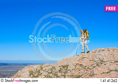 Free Hiking Stock Photography - 14141262
