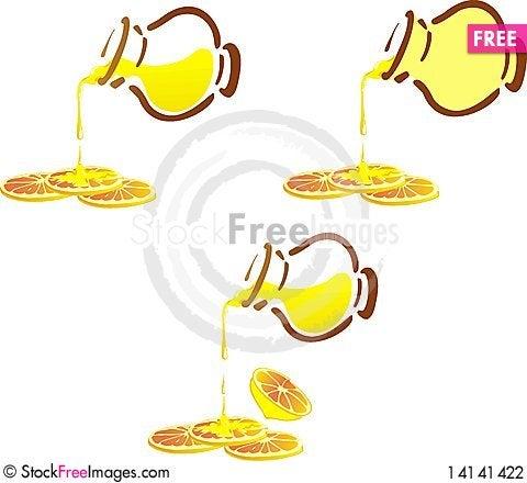 Free Phoney Pot And Lemon Cloves Stock Photography - 14141422