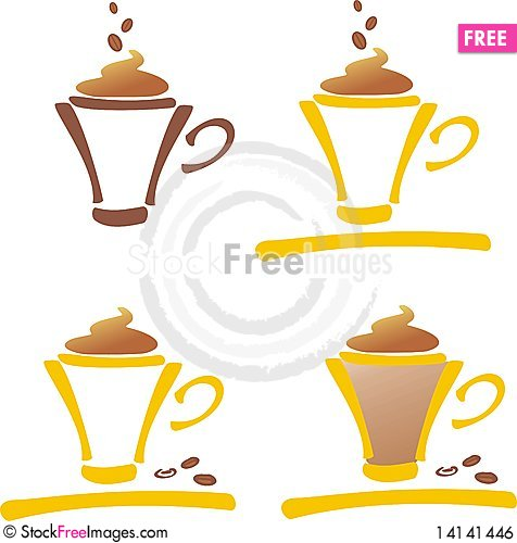 Free A Cup Of Coffee Royalty Free Stock Image - 14141446