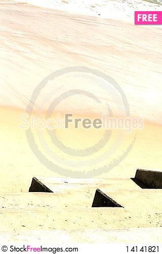 Free Desert Sea Stock Image - 14141821
