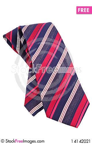 Free Striped Tie Stock Image - 14142021