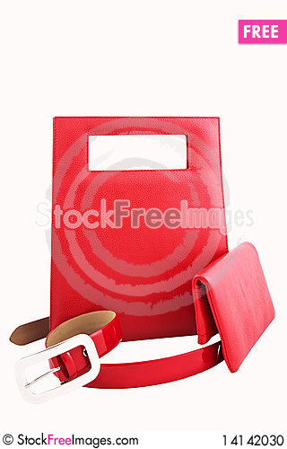 Free Set Of Leather Accessories Stock Photo - 14142030