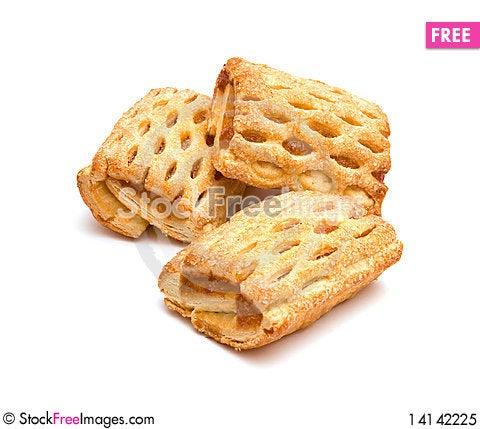 Free Three Cookies Royalty Free Stock Photo - 14142225