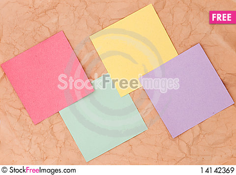 Free Note Papers Royalty Free Stock Images - 14142369