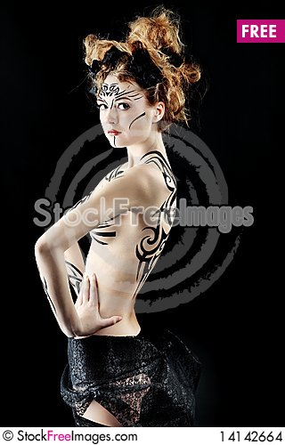 Free Body Painting Stock Images - 14142664
