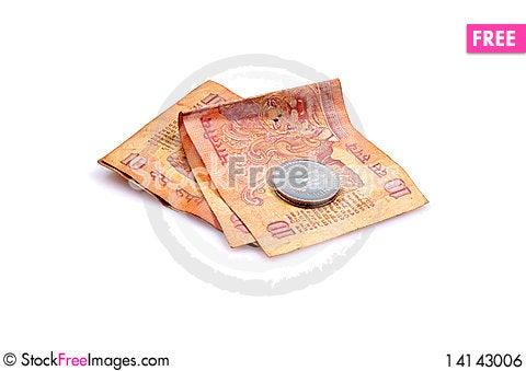 Free Poor Man Daily Wage Royalty Free Stock Image - 14143006