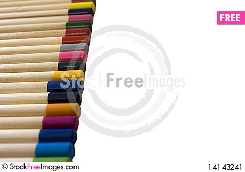 Free Colored Pencils Stock Image - 14143241