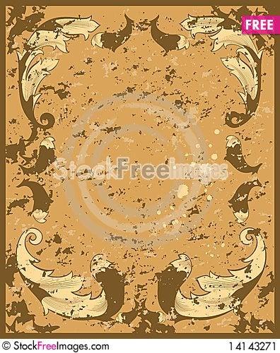 Free Grunge Background Stock Image - 14143271