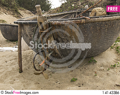 Free Fishing Boat Royalty Free Stock Image - 14143386