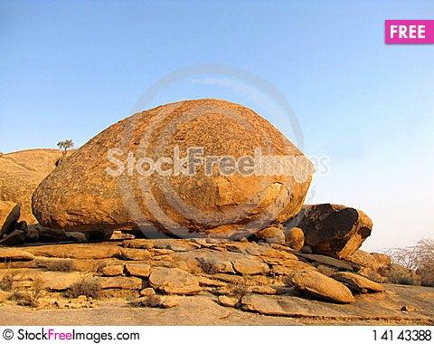 Free Erongo Mountains Royalty Free Stock Photos - 14143388