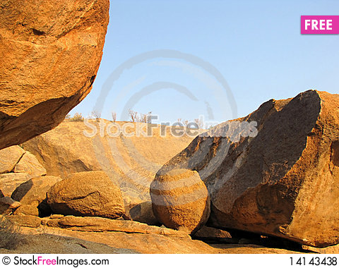 Free Erongo Mountains Royalty Free Stock Photos - 14143438