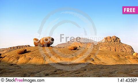 Free Erongo Mountains Royalty Free Stock Images - 14143589