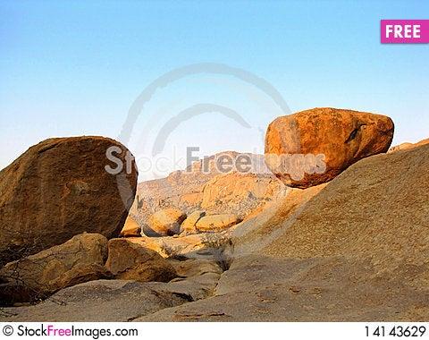 Free Erongo Mountains Royalty Free Stock Images - 14143629