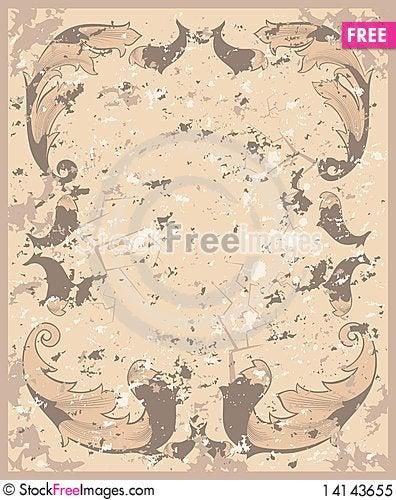 Free Grunge Background Royalty Free Stock Photo - 14143655