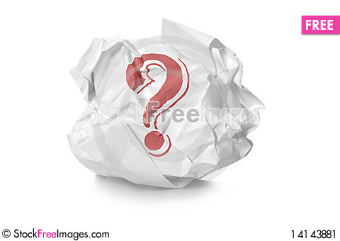 Free Crumpled Paper Stock Image - 14143881