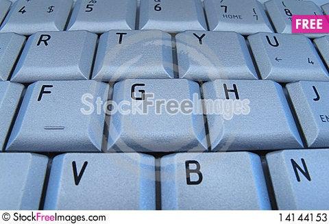 Free Keyboard Of Laptop Stock Photos - 14144153
