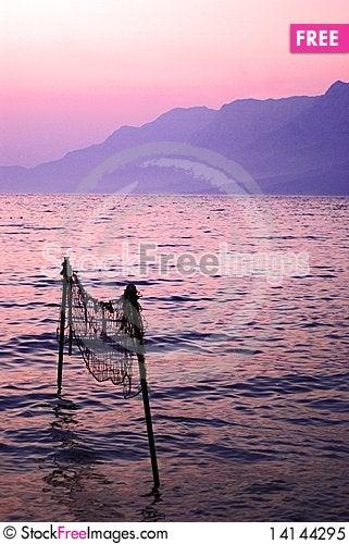 Free Evening At Sea Royalty Free Stock Photo - 14144295