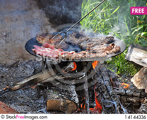 Free Barbecue Royalty Free Stock Image - 14144336